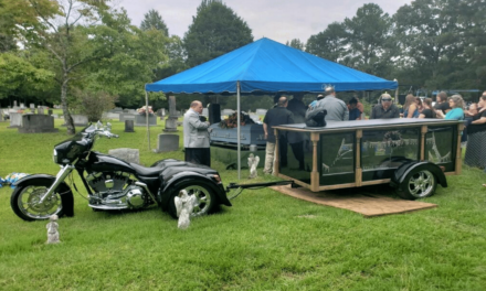 "Go Out in Style with Cycle Hearse Funeral Services for the ""Ultimate Last Ride"""