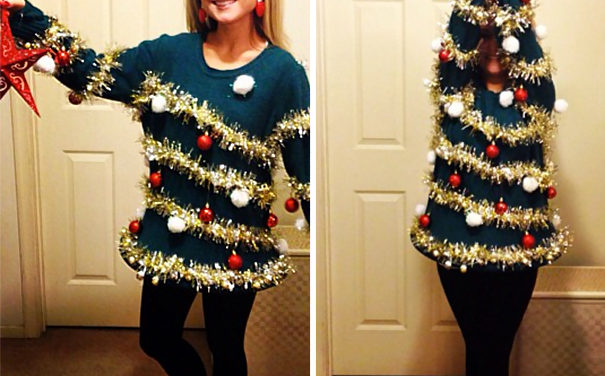 10 DIY Ugliest Christmas Sweaters for Your Next Holiday Party