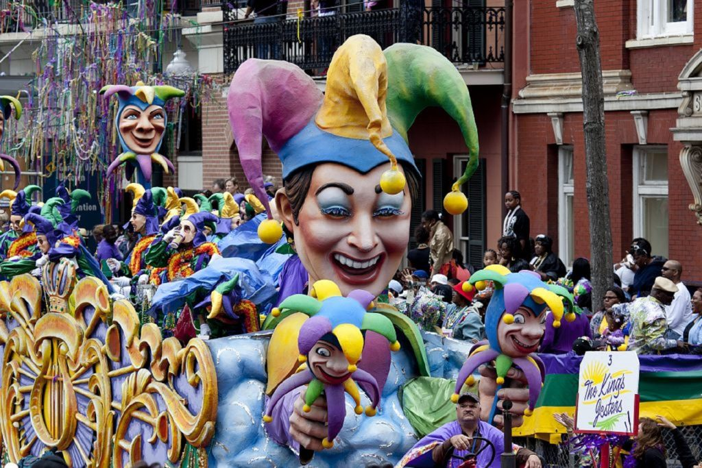 The rich history of Mardi Gras have parades