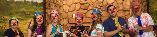 kids with cancer having fun at summer camp