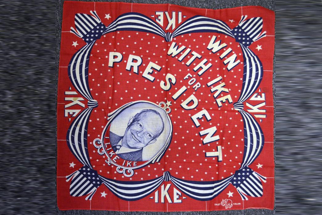 Political Bandana, Eisenhower