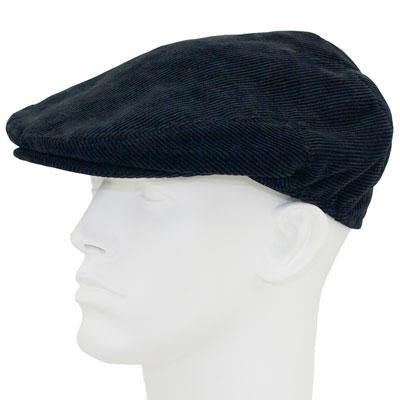 Black Ivy Cap Ivy Cap - Corduroy - Polyester - Single Piece ... b5a99606879