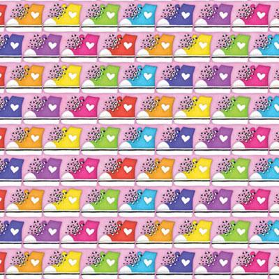 Rainbow SNEAKERS Bandana - Single Piece 22x22