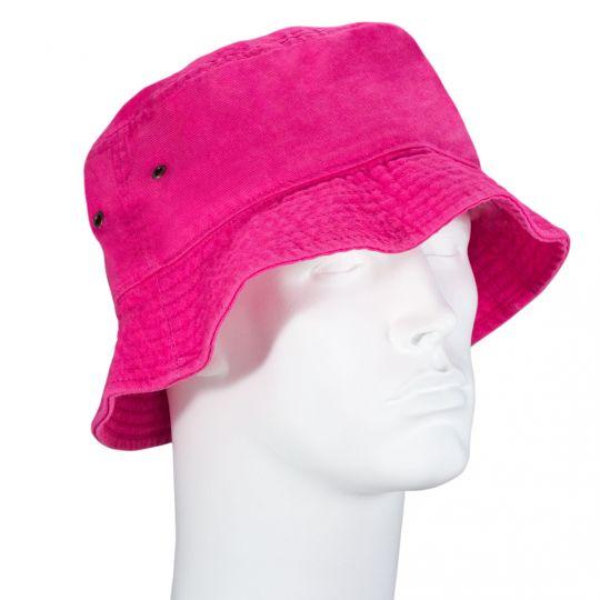 Hot Pink Bucket Hat - Single Piece - SM  WholesaleForEveryone.com fdfdb4257ab