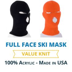 34ca5ceb63a Reversible Camo Ski Mask with Blaze Orange Lining ...