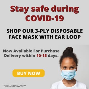 Covid-19 masks are available to ship right now